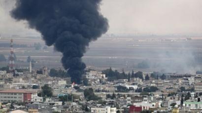 خبرنگاران اسکای نیوز: پهپادهای ترکیه به سوریه حمله کردند
