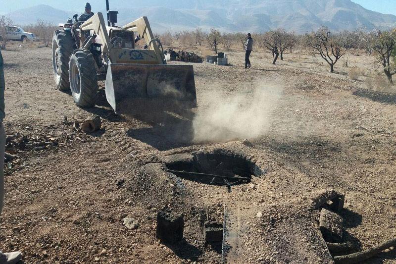 خبرنگاران 240 چاه غیرمجاز در دشت نیشابور مسدود شد