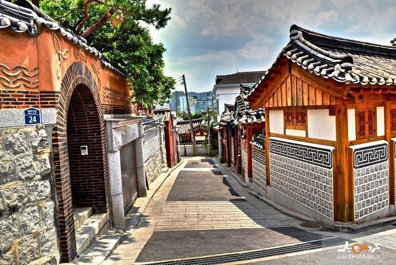 روستای بوکچون هانوک، تلفیقی از هنر و تاریخ کره جنوبی، عکس