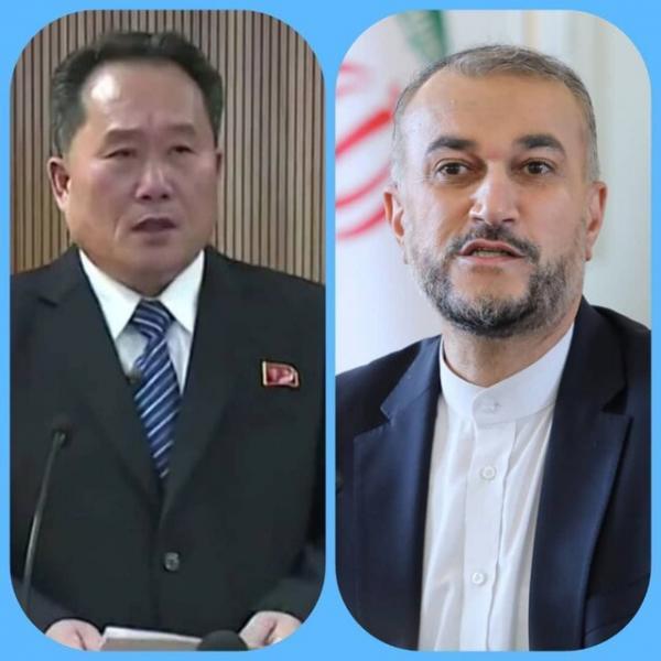 وزیر خارجه کره شمالی شروع به کار امیر عبداللهیان را تبریک گفت